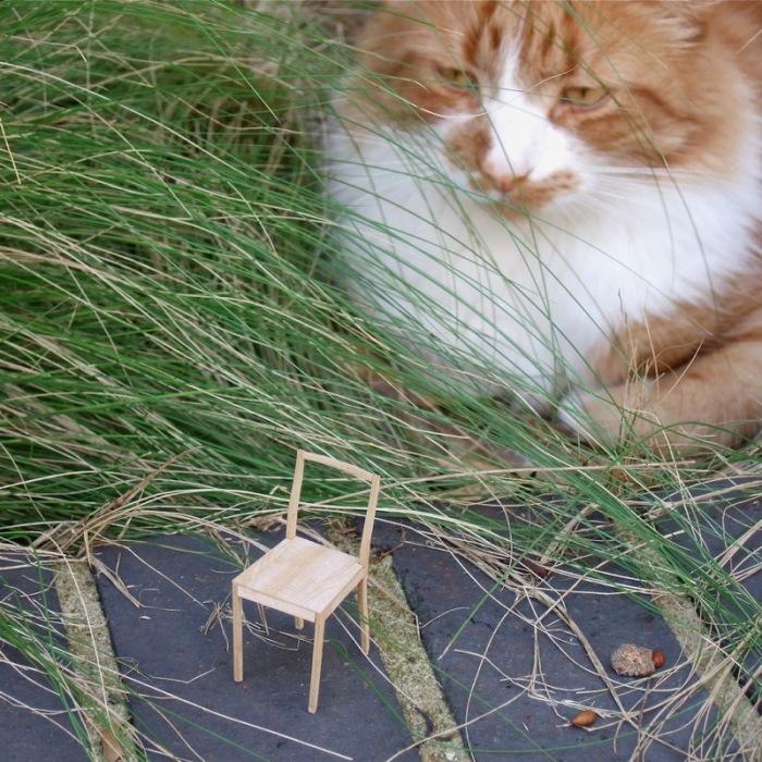 plywood cat